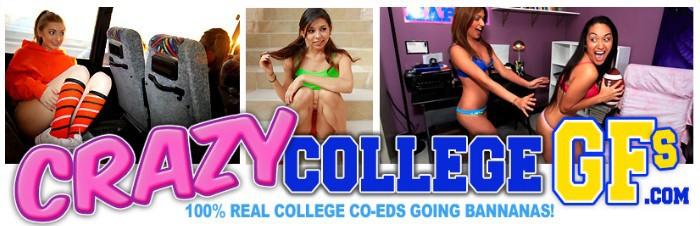 enter Crazy College GFs members area